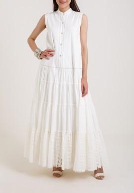 White Eyelets dress