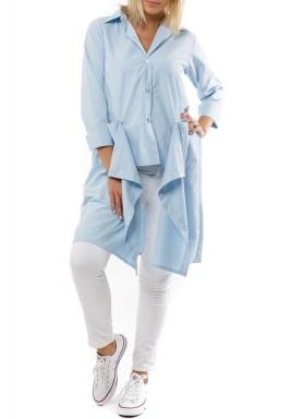 Charmeen maxi blue shirt