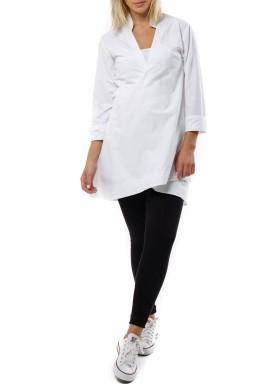 Maxi belt Shirt dress