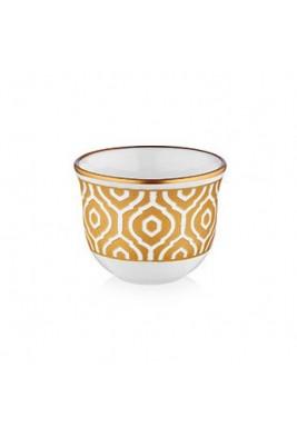 Koleksiyon Porcelain Arabic Coffee Cup,6 pieces Set-Print 5