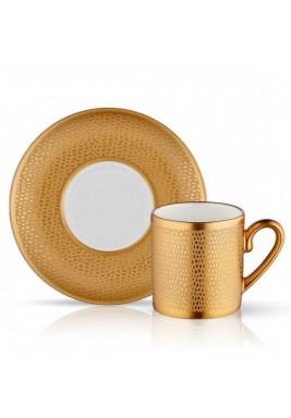 Koleksiyon Porcelain Turkish Coffee Cup with saucer,Traditional,6 Pieces Set-Print 4