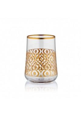 Koleksiyon Water Glass, Short, 6 Pieces Set - Print 8