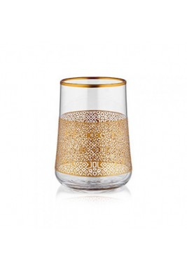 Koleksiyon Water Glass, Short, 6 Pieces Set - Print 9