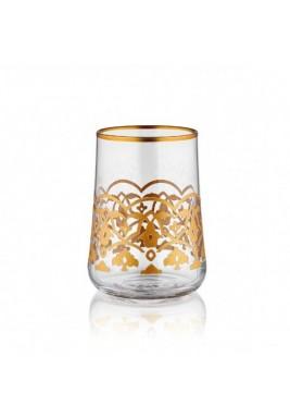 Koleksiyon Water Glass, Short, 6 Pieces Set - Print 12