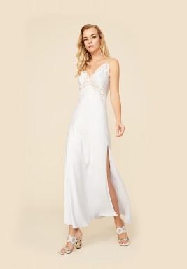 White Rayon Nightie