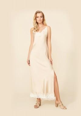 Joanna Sand Rayon Nightgown