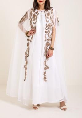 Bronze sleevless dress