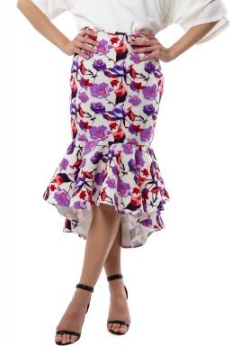 Mermaid floral Skirt