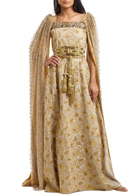 The golden empress kaftan