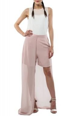 Flowy pink shorts