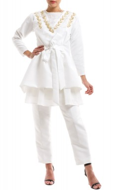 White suit set