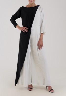 White Plisse Jumpsuit