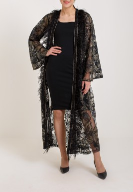 Black Feather Bisht