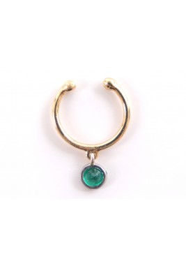 Amulet Mid Ear Cuff-Yellow Gold