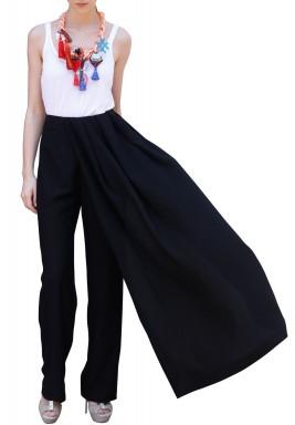 Half Skirt Pants