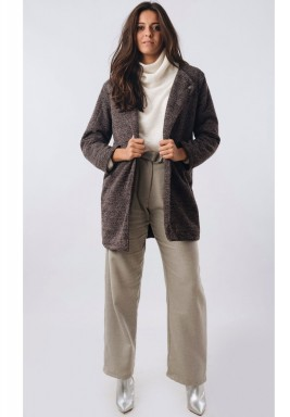 Tailored Longline Tweed Blazer