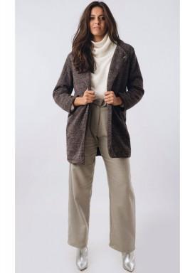 Tailored Longline Tweed Blazer