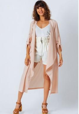 Rose Sheer Trench Coat