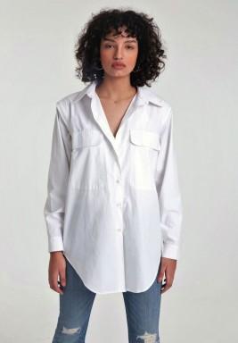 White convertible shirt