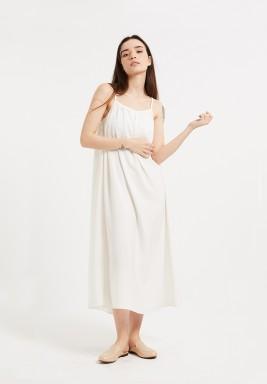 White Swing Dress