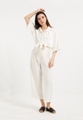 White Easy Days Shirt