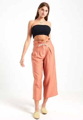 Nude Relaxed Fit Pants