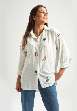 Isabella Embroidered Shirt