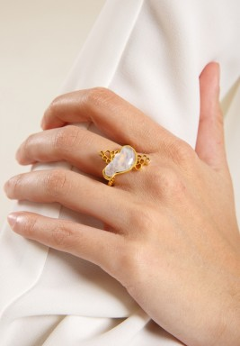 Nectar Moonstone Ring