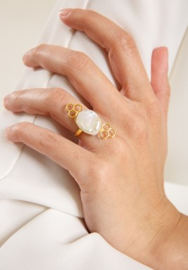 Nectar Pearl Ring