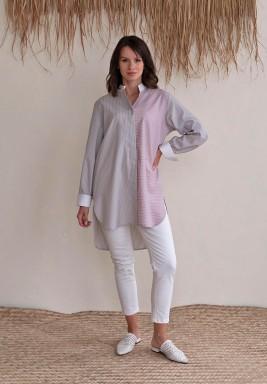Pastel Striped Shirt