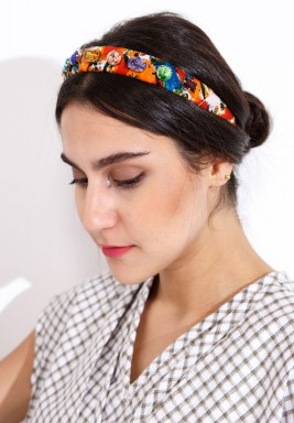 Zulu headbands orange