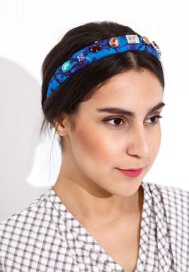 Zulu headbands blue