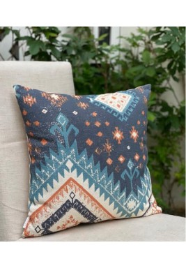 Multicolor Cotton Cushion