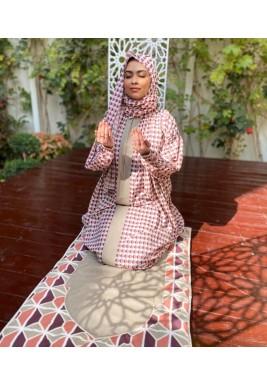 Scarfe Prayer Set - Pink