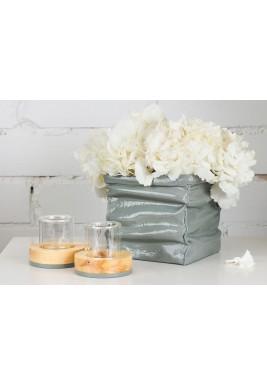 Squashed Box Gift Set - Concrete