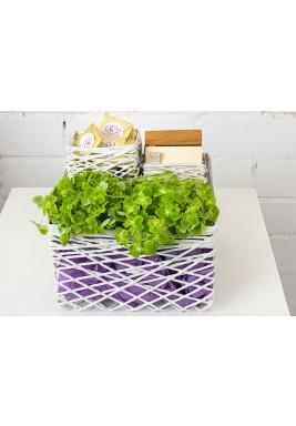 String Box Gift Set -Offwhite