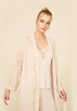 Sand Silk Robe Set