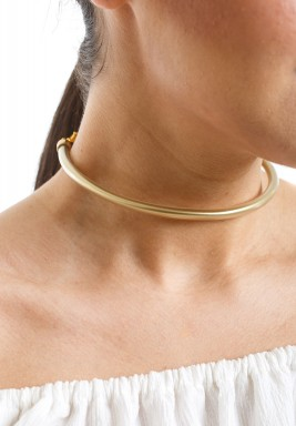 ZULU Golden Silicon Choker