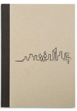 Kuwait City Skyline Notebook