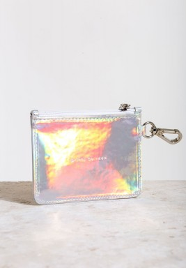 Holographic Handcrafted Wallet