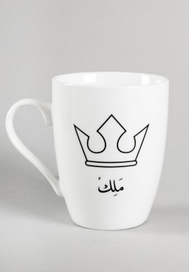 King's crown mug