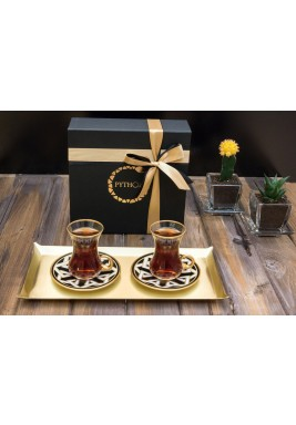 Black Tea set of 2 pieces