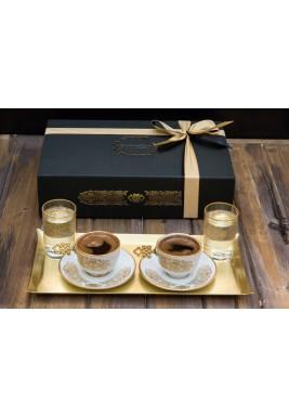 Turkish coffee & water set of 2
