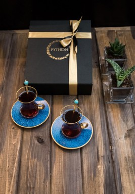 Print Tea set of 2 pieces