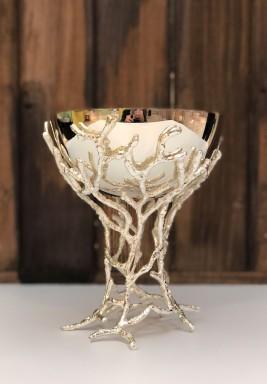 Hand made silver Mubkhar