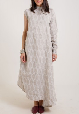 High collar  Kaftan