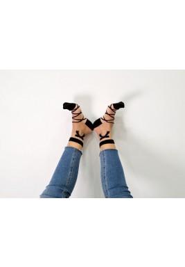 Rebecca Black Bow Socks