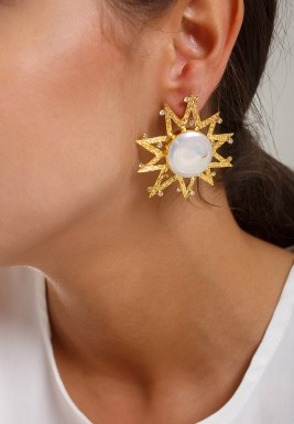 Marabella sun earrings