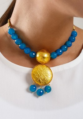 Granoda II blue necklace