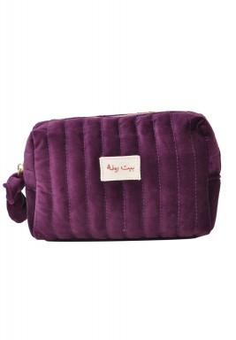 Beit RAMLA make up bag - Delta aubergine